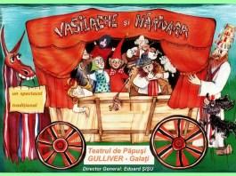 """Vasilache și Mărioara. Sursa foto: Teatrul """"Gulliver"""""""