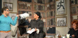 """""""Lettice și leușteanul"""". Sursa foto: Teatrul Arte dell'Anima din București"""