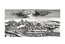 București, gravură publicată în 1717 la Leipzig