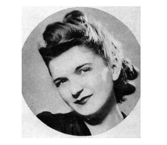 Ioana Radu, 1940. Foto: Arhiva Radio România