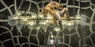 "Imagine din spectacolul ""Sternenhoch"" © Teatrul Național din Praga. Sursa: Teatrul Maghiar de Stat din Cluj"
