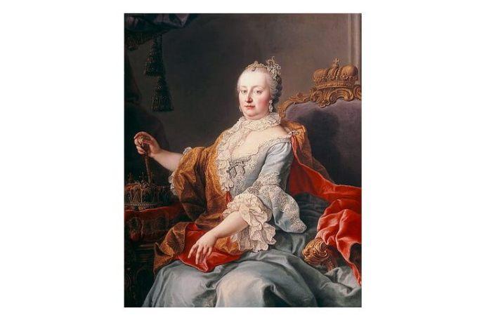 "Martin von Meytens (1695–1770), ""Împărăteasa Maria Tereza"", 1759"