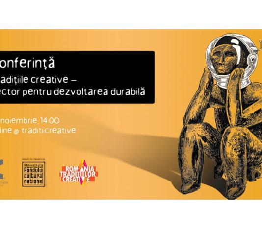 Visual conferință - Tradițiile creative - vector pentru dezvoltarea durabilă