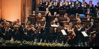 "Gianandrea Noseda și London Symphony Orchestra, Festivalul ""Enescu"", 2019. Foto: Alex Damian"