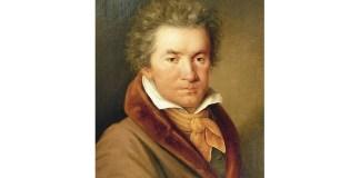 Joseph Willibrord Mähler (1778–1860), Portretul lui Ludwig van Beethoven, ulei pe pânză, 1815, Muzeul Orașului Viena