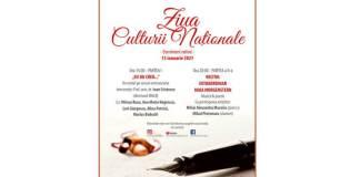 Afiș Ziua Culturii Naționale