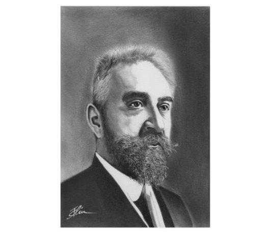Ion I. C. Brătianu, portret de Bogdan Calciu, 2018
