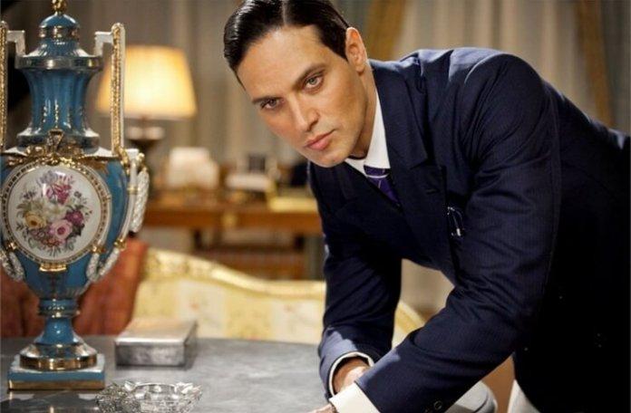 Gabriel Garko in Rudolf Valentino. Sursa foto TVR