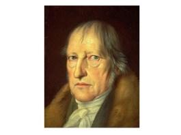 Hegel, portret de Jakob Schlesinger,1831