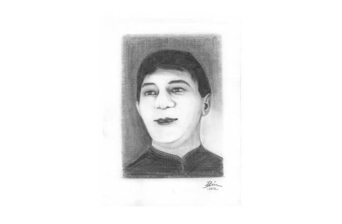 G Timică, portret de Bogdan Calciu, 2012
