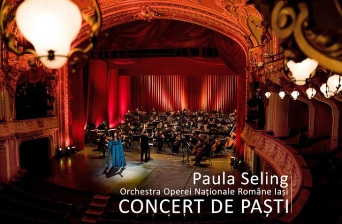 Concert Paula Seling. Sursa foto: TVR