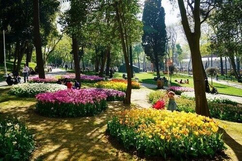 Parcul Gülhane din Istanbul