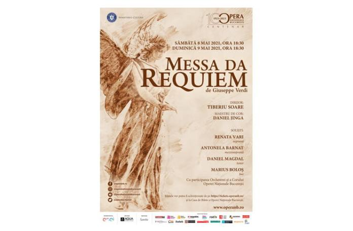 Afis Messa da Requiem ONB