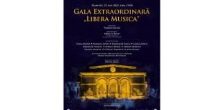 "Gala Extraordinara ""Libera Musica"" - 22 mai ONB"