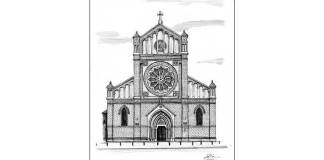 Catedrala Sf. Iosif, desen de Bogdan Calciu, 2012