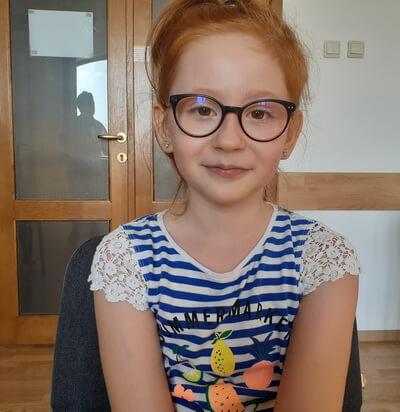 Maya Iordache, 9 ani