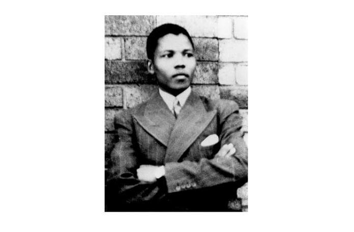 Nelson Mandela, fotografie cca. 1937