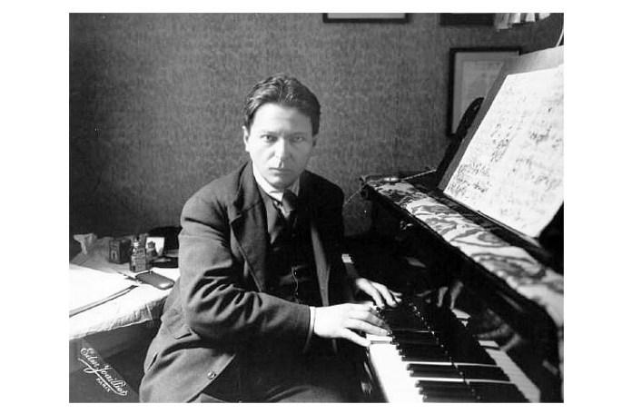 George Enescu, fotografie de E. Joaillier, Paris, 1930