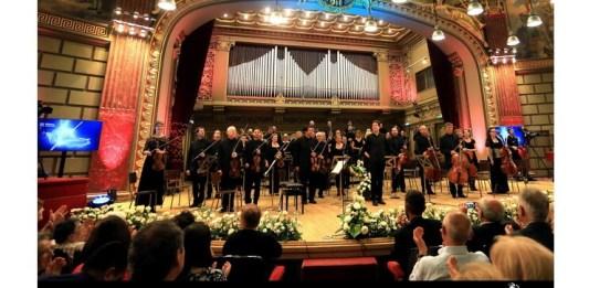 Joshua Bell și Academy of St.Martin in The Fields, 3 sept. 2017. Foto: Cătălina Filip, 2017