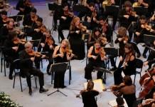 """Orchestra (fără dirijor) """"Les Dissonances"""", Sala Palatului, 16 septembrie 2021. Foto Andrada Pavel. Sursa Festivalul """"Enescu"""""""