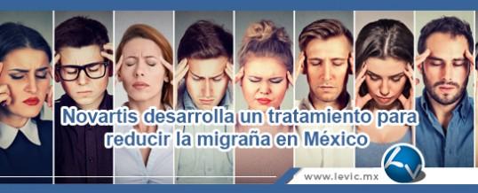 Novartis desarrolla un tratamiento para reducir la migraña en México