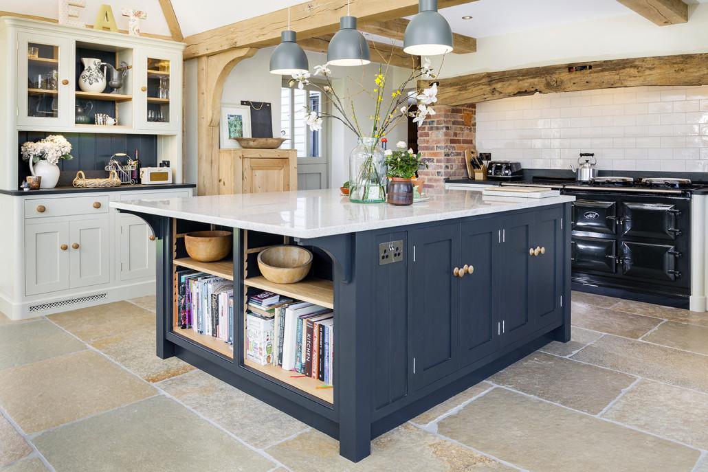 Open Plan Kitchen With Large Island Levick Jorgensen