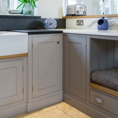 Free Standing Kitchen Island Average Size Of Sink Colourful Country House - Levick Jorgensen Kitchens