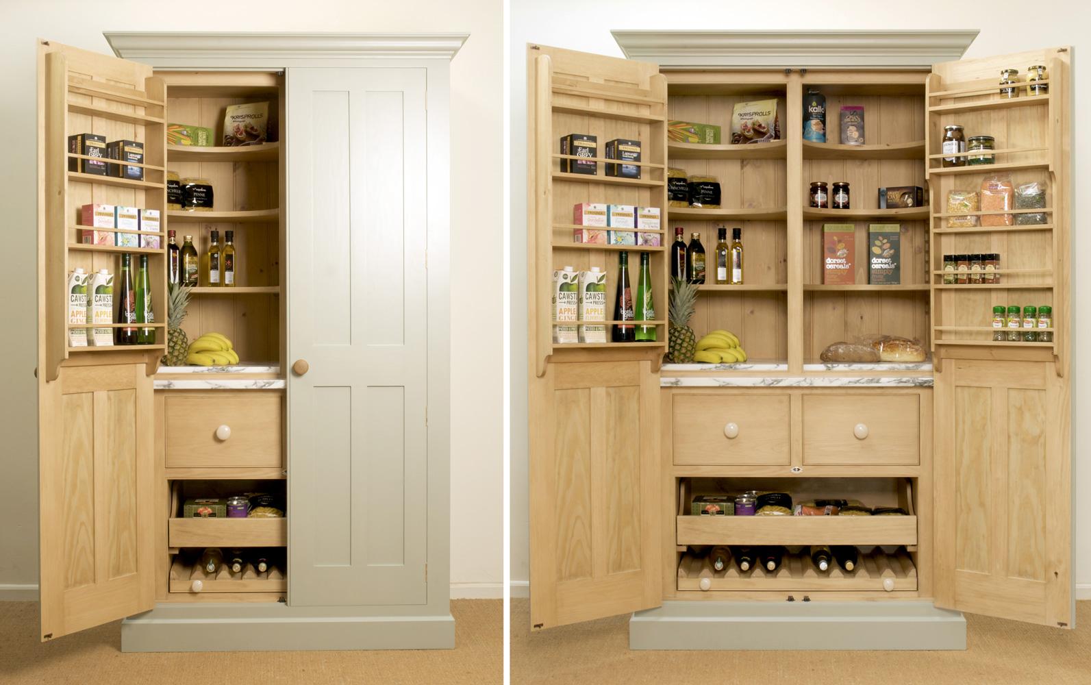 free standing kitchen larder cupboards white appliances cupboard
