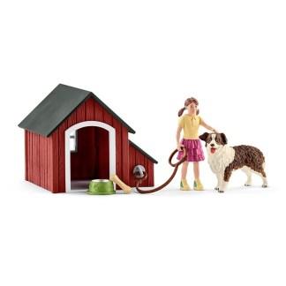 Dog Kennel - Schleich 42376