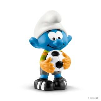 Schleich Football Smurf Goalkeeper figure - 20808 | LeVida Toys