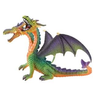 Bullyland Double-Headed Dragon Green figure   LeVida Toys