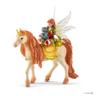 Schleich Fairy Marween with Glitter Unicorn Bayala figure - 70567   LeVida Toys