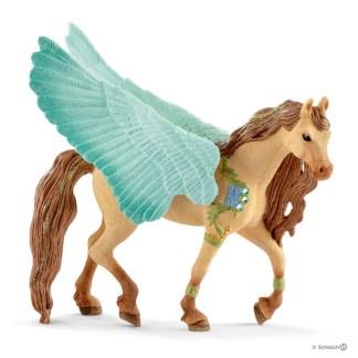 Schleich Decorated Pegasus Stallion Bayala figure - Schleich 70574 | LeVida Toys