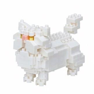 Nanoblock Mini Collection, Persian Cat (NBC-267) | LeVida Toys