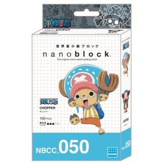 Nanoblock, One Piece - Chopper (NBCC-050) | LeVida Toys