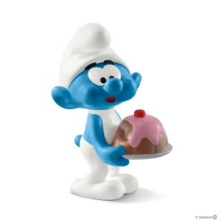 Schleich Greedy Smurf The Smurfs figure - Schleich 20815 | LeVida Toys