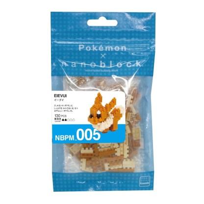 Pokemon Eevee (Nanoblock NBPM-005) | LeVida Toys