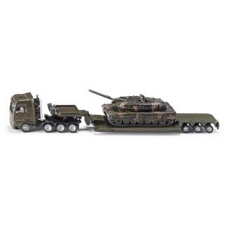 Man Low Loader with Leopard Tank 1:87 (Siku 1872)   LeVida Toys