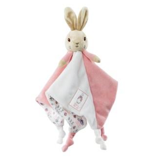 Flopsy Rabbit Comfort Blanket by Rainbow Designs   LeVida Toys