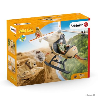 Animal Rescue Helicopter (Schleich 42476)   LeVida Toys