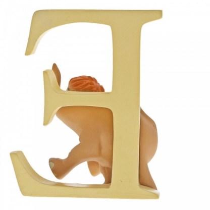 """E"" - Baby Elephant - Disney Letter   LeVida Toys"
