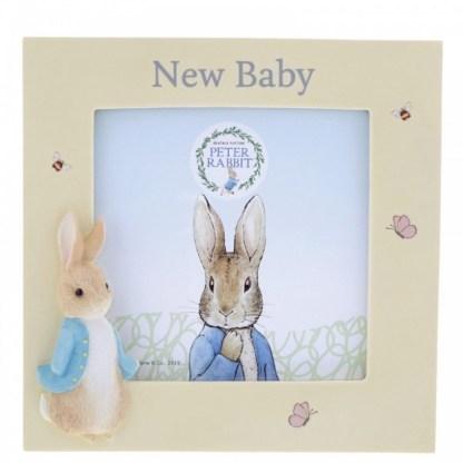 Peter Rabbit New Baby Photo Frame   LeVida Toys