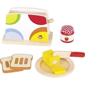 Goki: Toaster - Play Kitchen Set   LeVida Toys