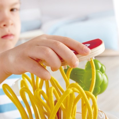 Hape Silly Spaghetti Play Food Set (E3165)   LeVida Toys