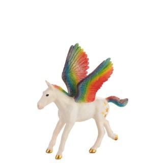 Rainbow Baby Pegasus (Animal Planet 387361) | LeVida Toys