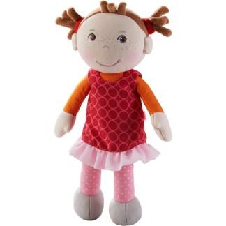Fabric Mirka Snug-Up Doll by Haba (305041) | LeVida Toys
