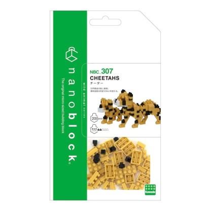 Cheetahs (Nanoblock NBC-307)   LeVida Toys