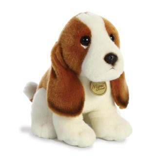 MiYoni Basset Hound 11 Inch soft toy by Aurora | LeVida Toys