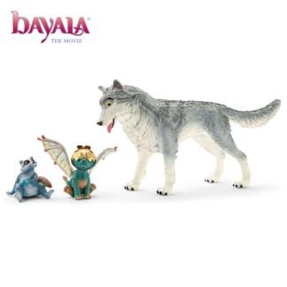 Bayala the Movie: Lykos, Nugur & Piuh (Schleich 70710)   LeVida Toys