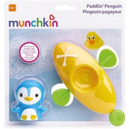 Munchkin Paddlin' Penguin Bath Toy   LeVida Toys